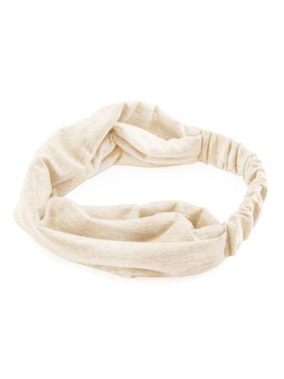 Yoga Haarband Hairband in Elfenbein