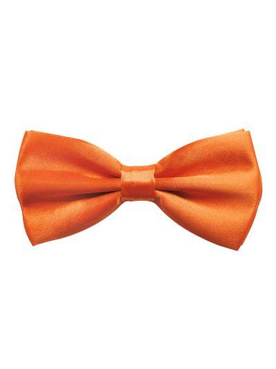 Herren Fliege Bereits gebunden verstellbar in Orange