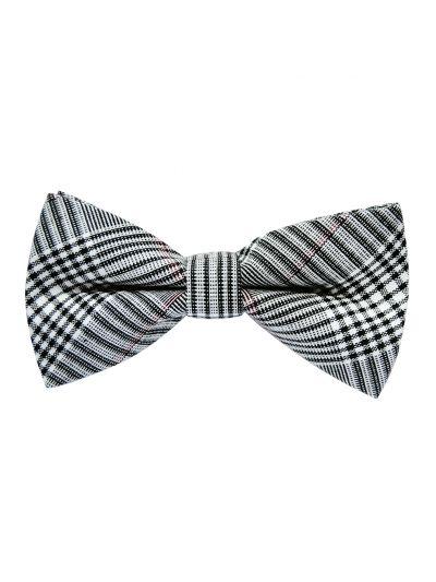 axy Herren kariert Fliege im Tweed Style