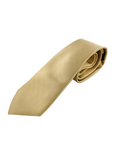 axy Herren Krawatte mit Geschenkbox in Gold
