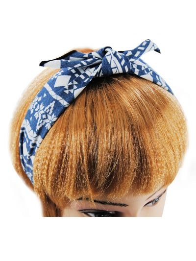Vintage Haarreif mit Schleife Motiv9
