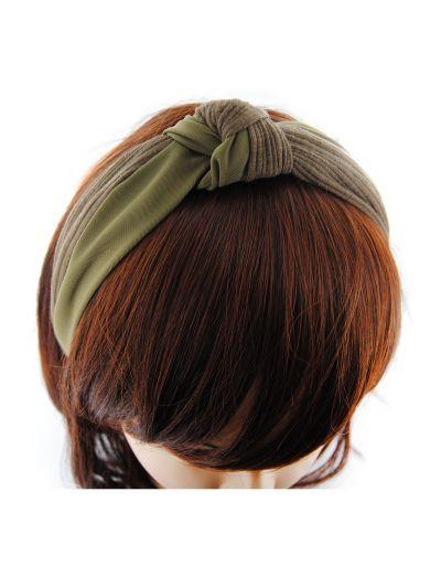 Vintag Haarreif aus Baumwolle-Oliver